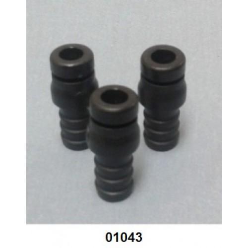 01043 - Bico plástico para mangueira de Pó