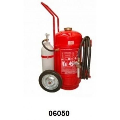 06050 - Extintor carreta Pó ABC ou BC 20 kg pressão indireta