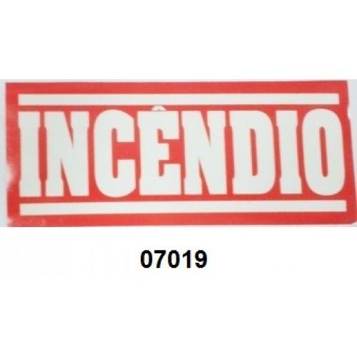 07019 - INCÊNDIO