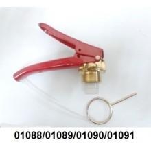 01088/01089/01090/01091 - Válvula para extintor P4/P12/Pó/AP ITA/METALCASTY/MP/MG