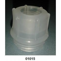 01015 - Bucha para válvula P 1 curta para sifão fino
