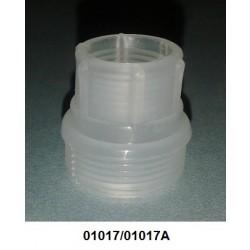 01017/01017A - Bucha para válvula P4 curta para sifão grosso.(sem limitador)(com limitador)