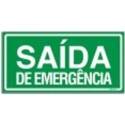 010300 B - Placa Saída De Emergência