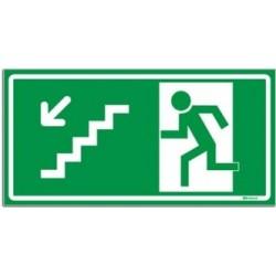 010300 R - Rota De Fuga - Escada Descendo À Esquerda