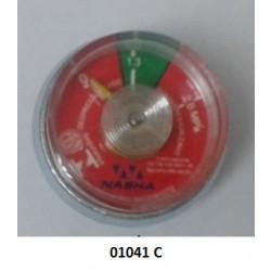 01041 C - Manômetro espiral 1.3 MPA Protege