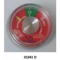 01041 D - Manômetro espiral 1.4 MPA Resil/Bucka