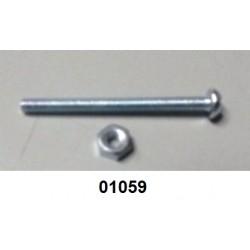 01059 - Parafuso com porca para gatilho de válvula P4/AP/CO²