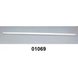 01069 - Sifão grosso barra com 3,00 m (10 x 14 mm) Polipropileno (PP) branco