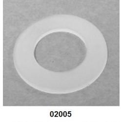 02005 - Arruela de 44 mm para tampa, confeccionada em polietileno