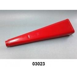 03023 - Difusor vermelho com rôsca de metal p/Extintor 4 e 6 kg