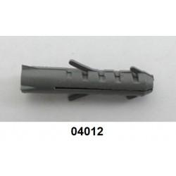 04012 - Bucha S8 para fixar suporte de parede