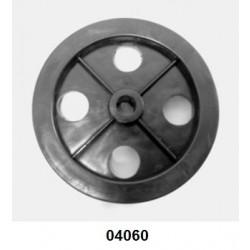 04060 - Roda para carreta P 20, confeccionada em polietileno
