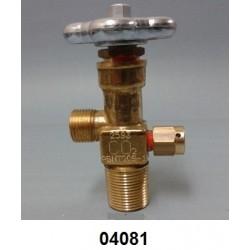 """04081 - Válvula ¾"""" de ABL 45 kg para cilindro"""