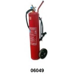 06049 - Extintor carreta Pó ABC ou  BC 20 kg pressão direta