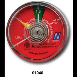 01040 - Manômetro 1.0 Nacional